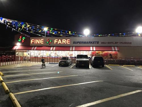 Fine Fare Supermarket After